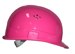 Bauhelm in Pink